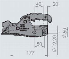 Шаровое ТСУ PrOFI V тип AK 301